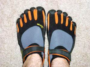 Shod, but barefoot